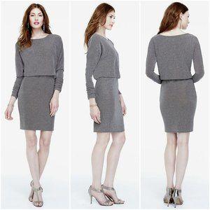 Jessica Howard Dresses - Jessica Howard Long Ruched Sleeve Blouson Dress